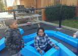 Learners enjoy building with Imagination Playground