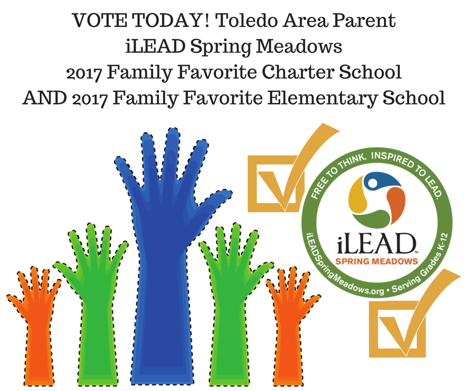 We are on the Toledo Area Parent Family Favorite Charter School Ballot (2)