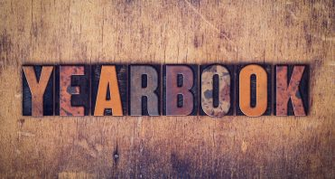Yearbook Concept Wooden Letterpress Type