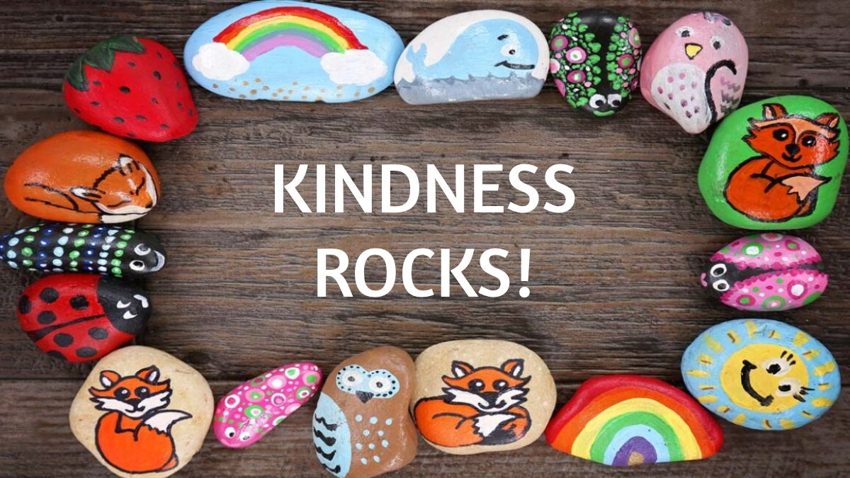 iLEAD Spring Meadows Kindness Rocks