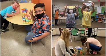 iLEAD Spring Meadows learners on campus