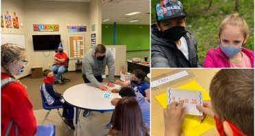 iLEAD Spring Meadows learners cleanup day and Math Camp